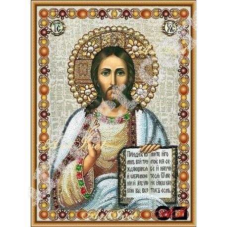 Наличен Диамантен гоблен ИСУС И НЕГОВОТО УЧЕНИЕ: Размер и Вид - Кръгли диаманти 39х28