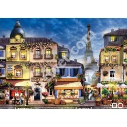 Наличен Диамантен гоблен УЛИЧКА В ПАРИЖ: Размер и Вид - Кръгли диаманти 32х24