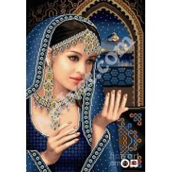 Наличен Елмазен гоблен ШЕХЕРЕЗАДА: Размер и Вид - Кръгли диаманти 25х20