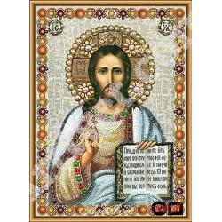Наличен Диамантен гоблен ИСУС И НЕГОВОТО УЧЕНИЕ: Размер и Вид - Кръгли диаманти 46х33
